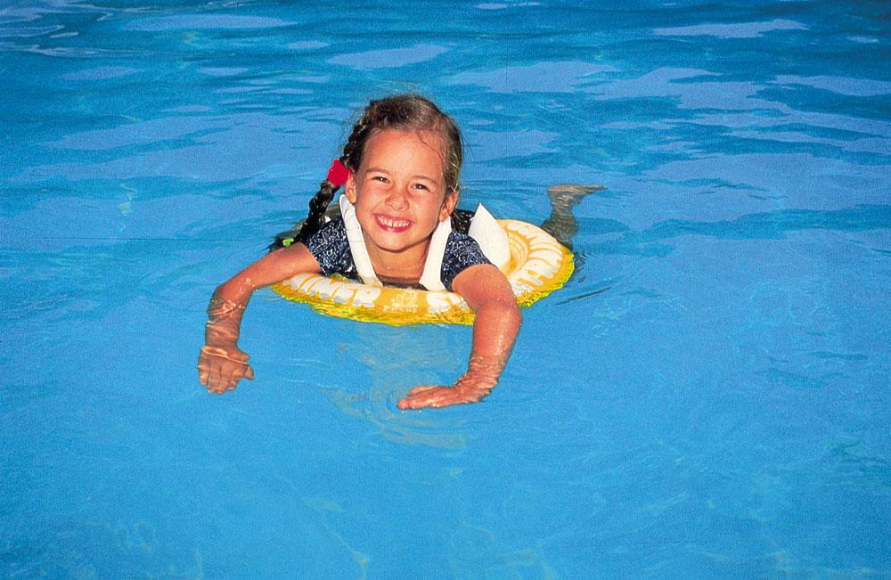 SwimTrainer жёлтый